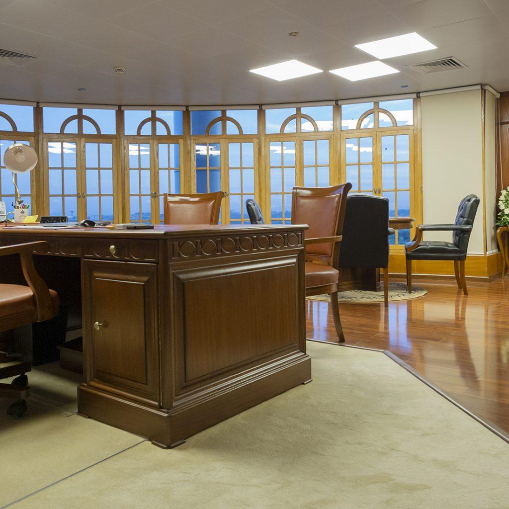 NDRMF - CEO Room Interior